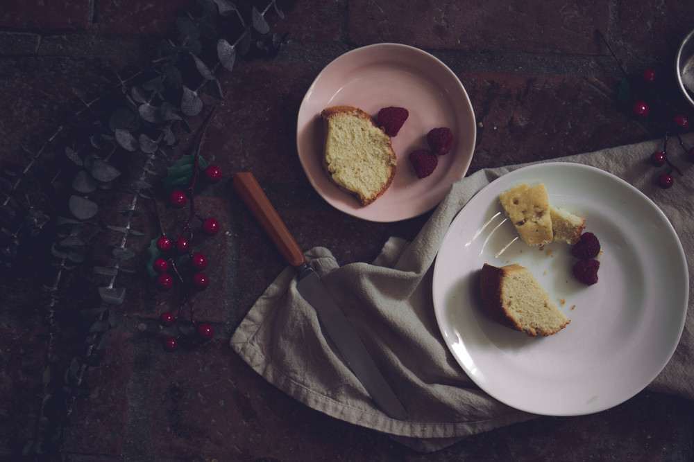 How to make tea infused pound cake | by fit for the soul