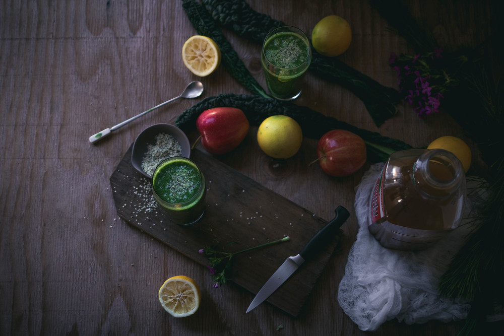 Ideas for making the best sweet kale smoothies | by fit for the soul
