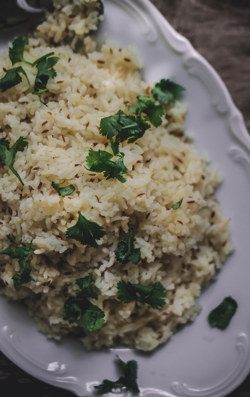 How to make the best Indian rice--jeera (cumin) pulao | from scratch, mostly