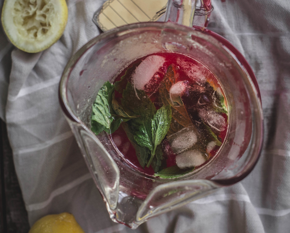 Summery Strawberry Mint Lemonade recipe | from scratch, mostly