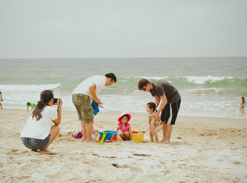 Family day in Hermosa Beach | from scratch, mostly