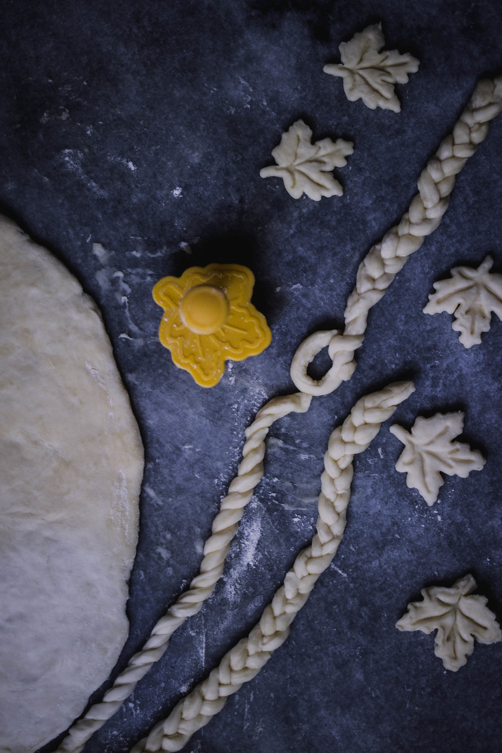 How to make fancy pie crust shapes, braids and leaves | from scratch, mostly