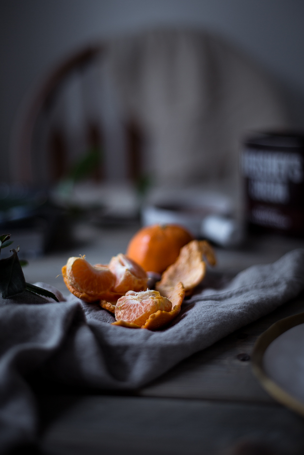 Tangerines still life photo