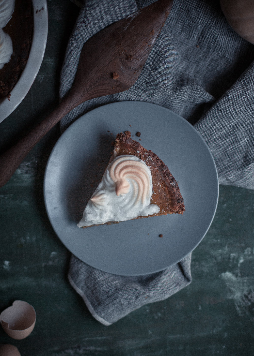 Best recipe with Biscoff cookies, Urth Caffe style pumpkin pie at home, featuring Polder's Old World Market Dreamware | from scratch, mostly