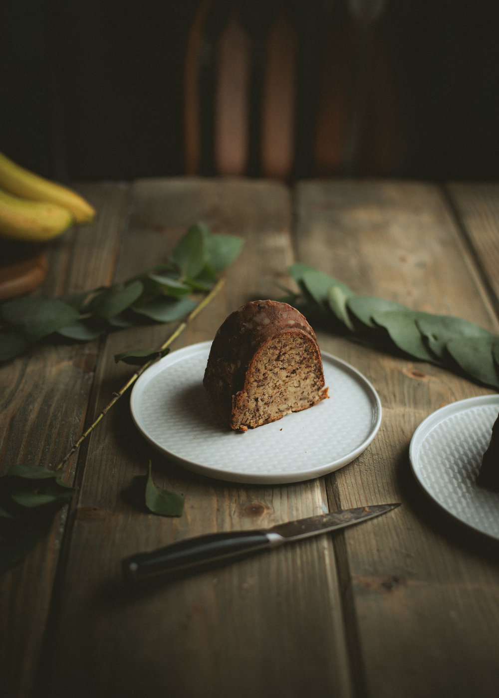 Super tall and moist banana bread recipe | from scratch, mostly blog