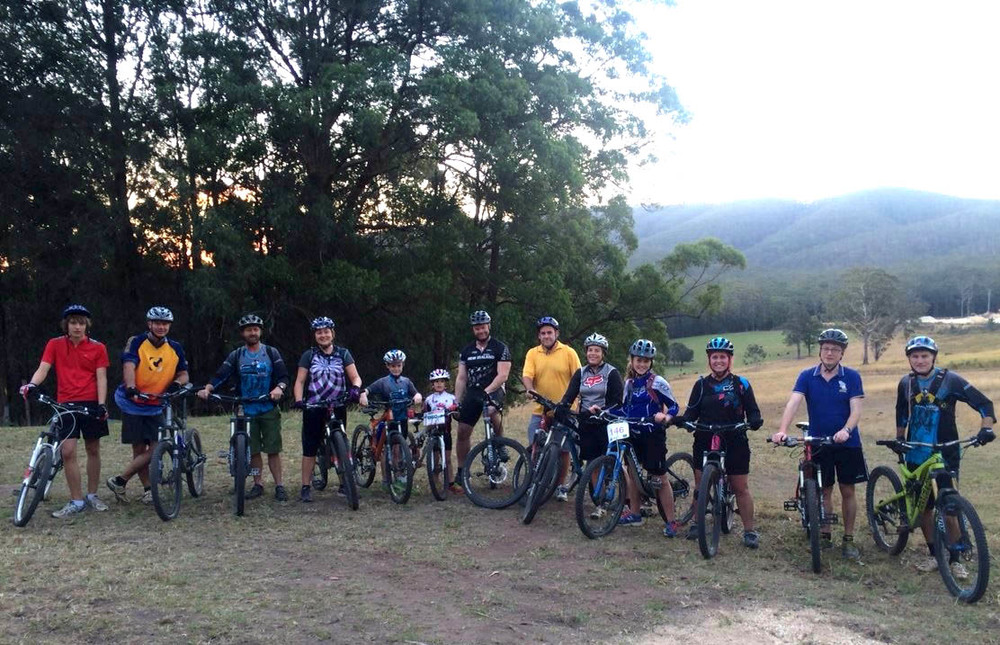 Hastings mountain bike group