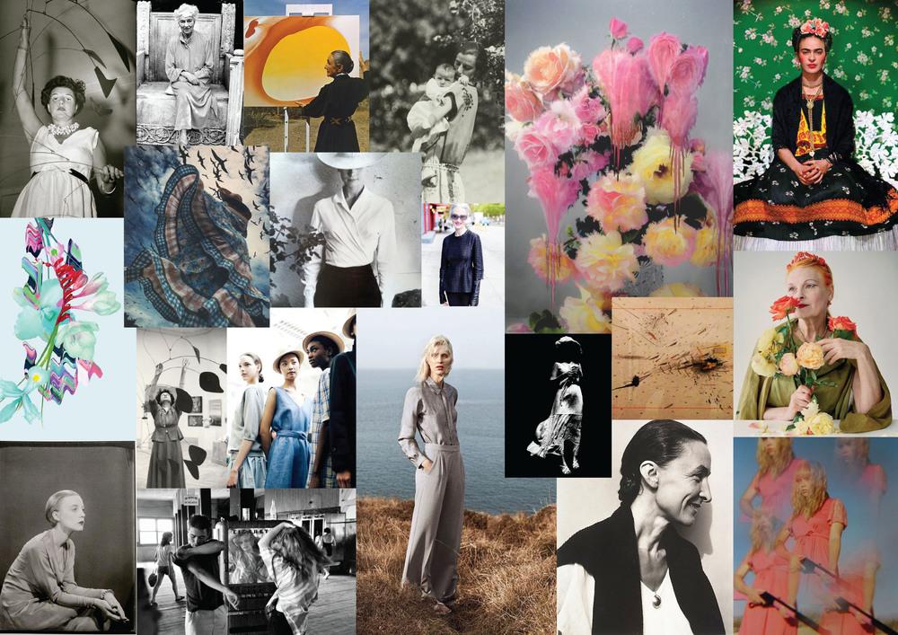 Floral Feminism concept