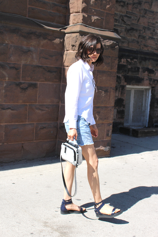 WoahStyle.com | Comme Des Garcons PLAY, Alexander Wang Jade sandal and 3.1 Phillip Lim Ryder Bag