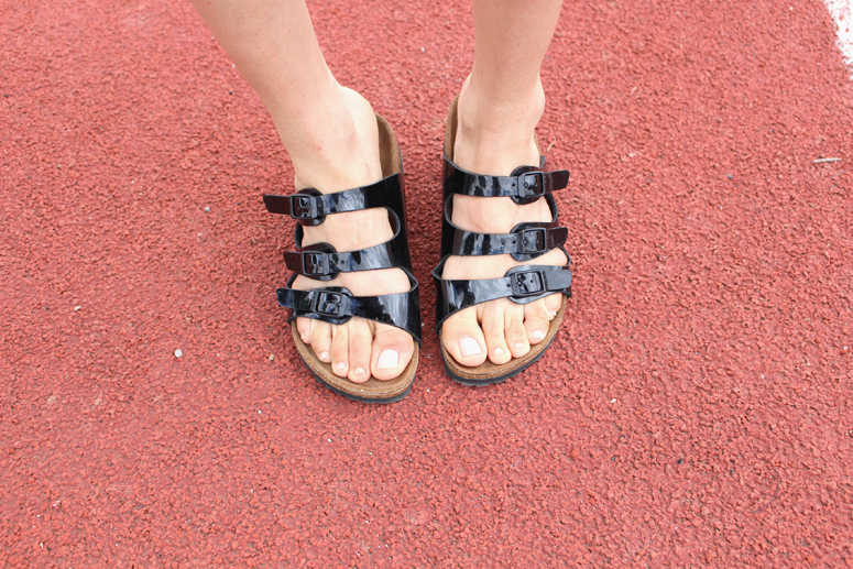 WoahStyle.com | Birkenstock Florida Patent Leather Sandal in Black