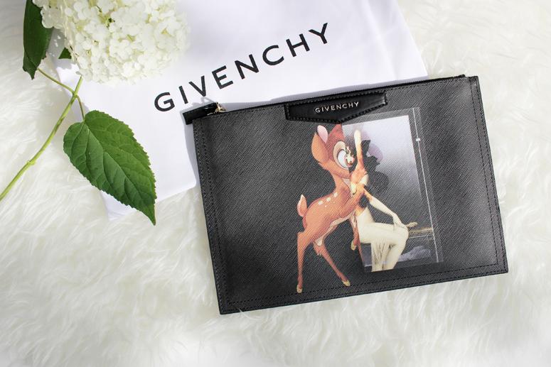WoahStyle.com | Givenchy Antigona Bambi Clutch Pouch
