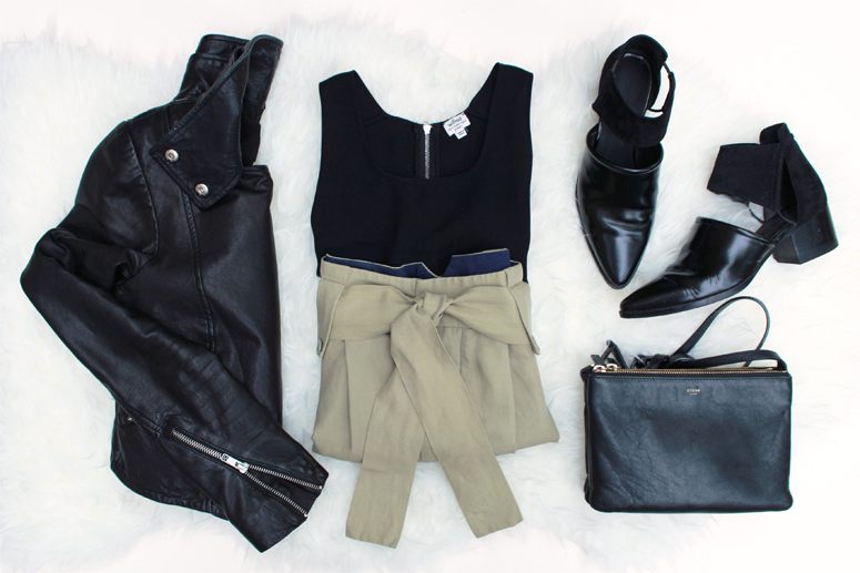 WoahStyle.com | Transitioning into fall with Mackage, Aritzia, See by Chloe, Alexander Wang and Celine