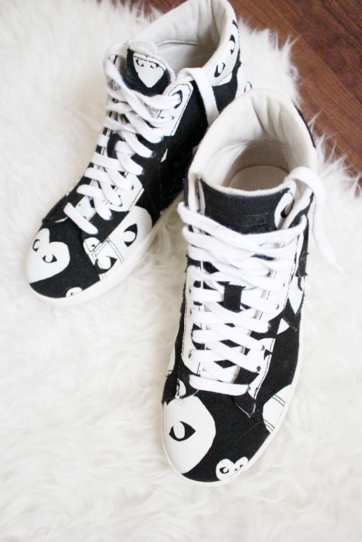 WoahStyle.com | Converse x Comme des Garçons sneakers