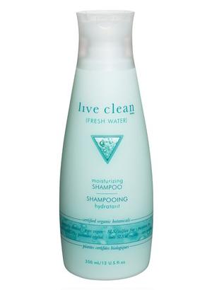 WoahStyle.com | Live Clean Moisturizing eco friendly shampoo