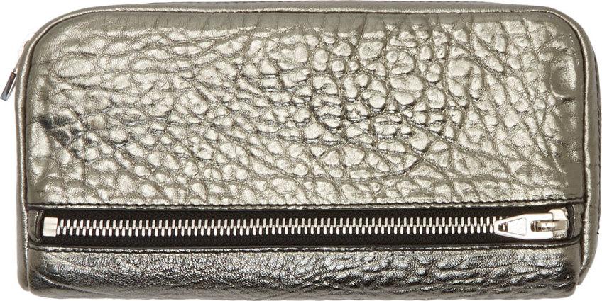 WoahStyle.com | Alexander Wang Metallic Fumo Wallet
