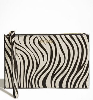 WoahStyle.com | Guess Marciano Animal Zip Pouch