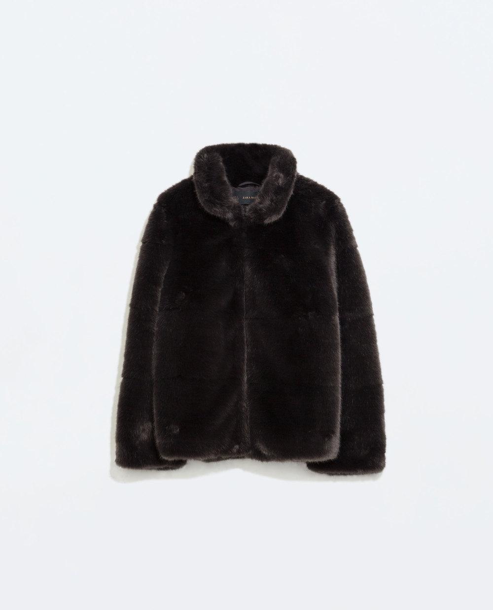 WoahStyle.com | Zara Fur Jacket