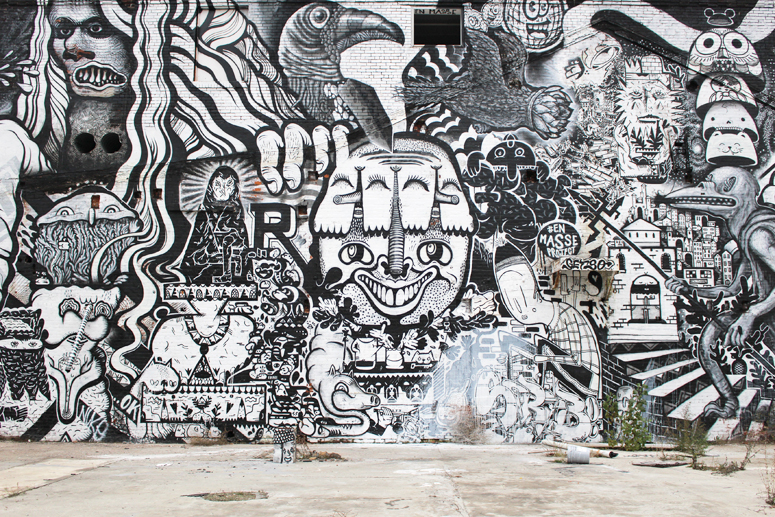 WoahStyle.com | Shades of Black Mega Post #streetstyle #streetart #grafitti