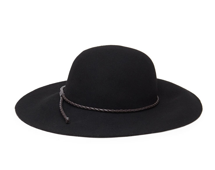 WoahStyle.com | Forever 21 Floppy-Brimmed Wool Hat