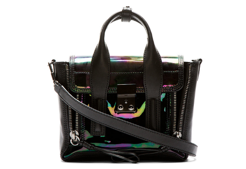 WoahStyle.com - 3.1 Phillip Lim Black Oil Mini Pashli