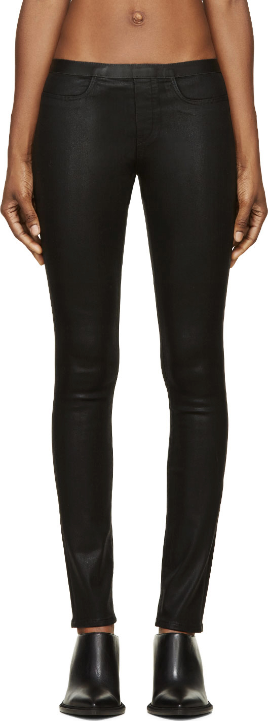 WoahStyle.com | Helmut Land Coated Leggings