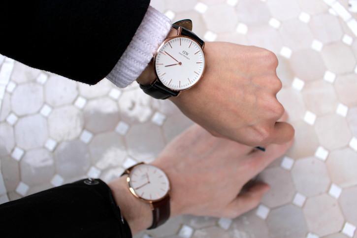 WoahStyle.com | Daniel Wellington Classic Bristol men's watch and Classic Lady Sheffield women's watch