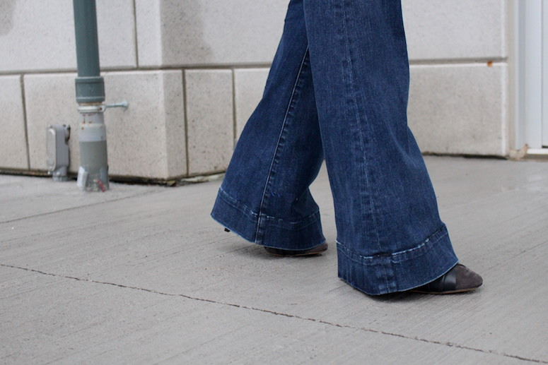 WoahStyle.com | Denim Flares - forecasting 2015 trends #streetstyle