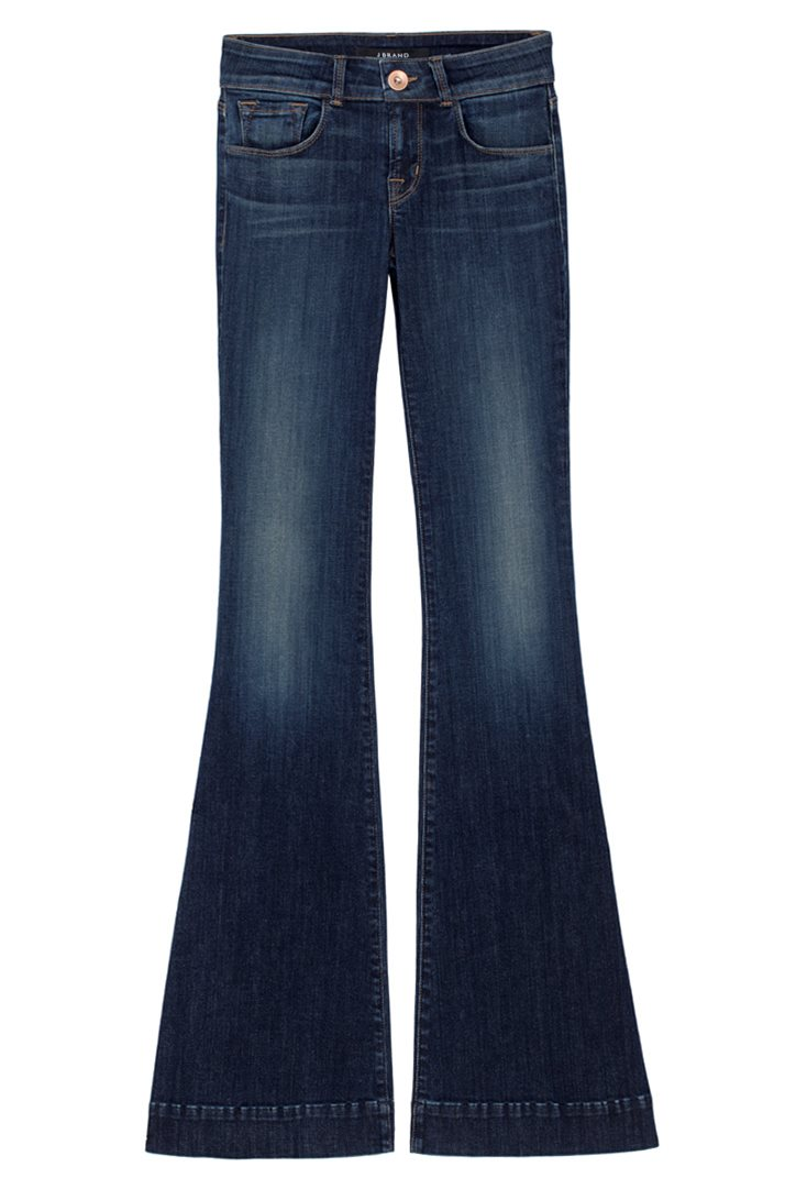 Jbrand flares - 722 Close Cut Love Story