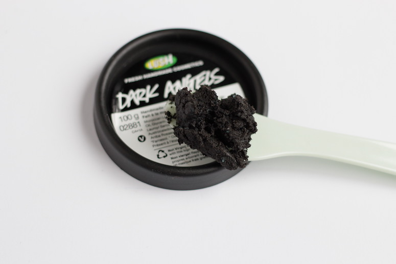 WoahStyle.com | Lush Dark Angels black scrub and Catastrophe Cosmetic Review