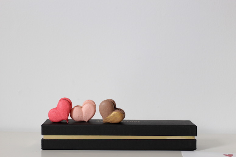 WoahStyle.com x Butter Avenue heart shaped French Macarons