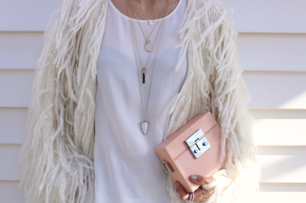 WoahStyle.com | SS15 Lisbeth Jewelry necklaces and Mendocino shirt and fringed jacket