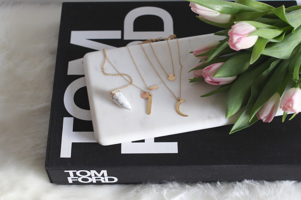WoahStyle.com | SS15 Lisbeth Jewelry necklaces and Tom Ford book