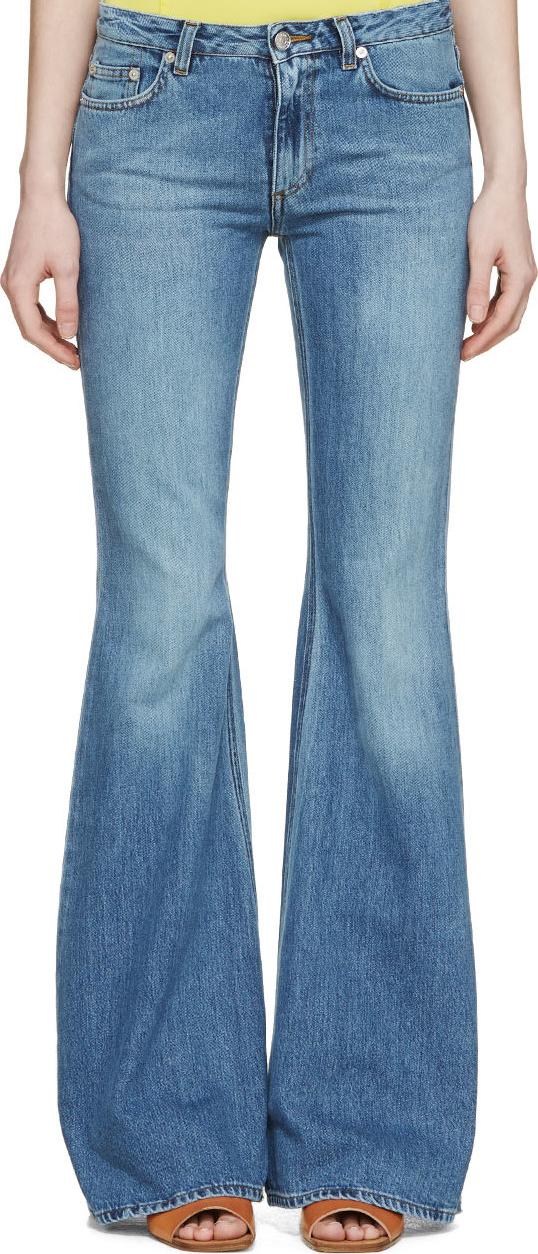 WoahStyle.com | Acne Studios  Blue Vintage Flared Mello Jeans
