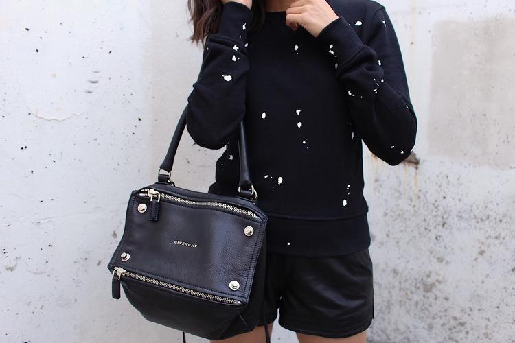 medium Pandora bag - Grey Givenchy S3b0Ob