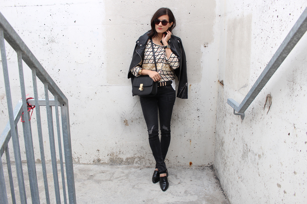 WoahStyle.com_Rag and Bone skinny distressed moto jeans_Free People beaded jacket_Mackage leather jacket_Alexander Wang ankle boots_JCOS box bag_Layered look_Fall 2015_StreetStyle_Luxe OOTD_2647.jpg