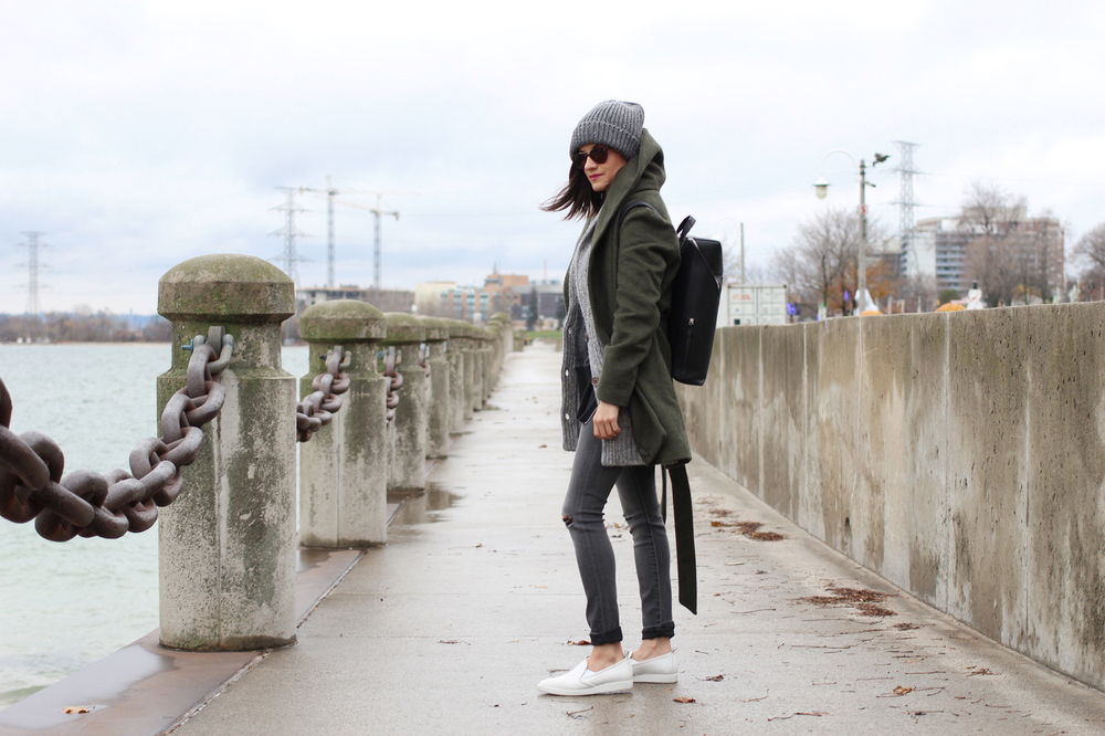 WoahStyle.com-Banana-Republic-jeans-knitted-grandfather-cardigan-Old-Navy-Olive-Wrap-coat-Gap-sweatshirt-Everlane-white-slip-on-sneakers-street-style-toronto-fashion-blogger-ootd_7607.jpg