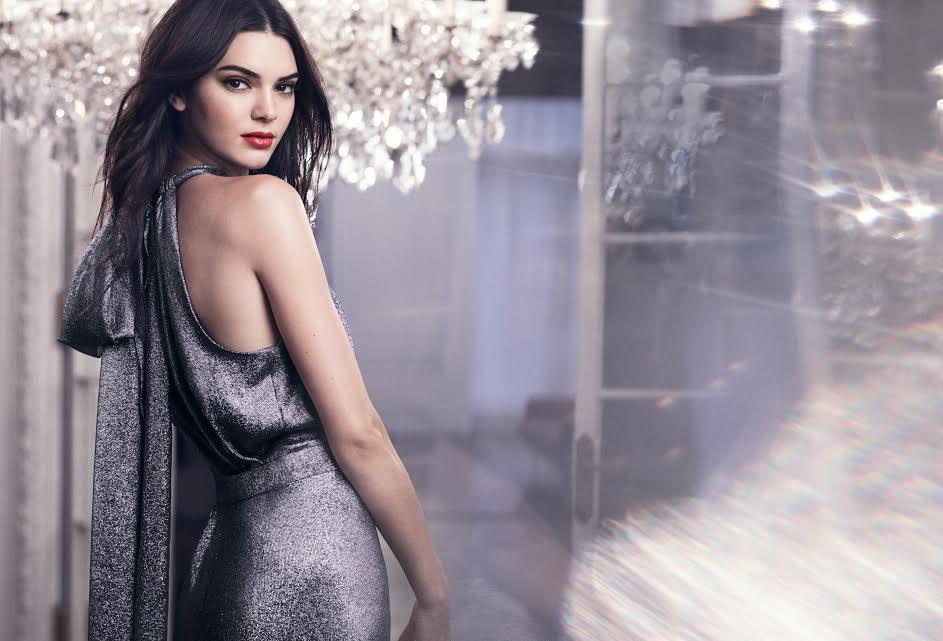 Kendall Jenner, the new face of Estée Lauder.