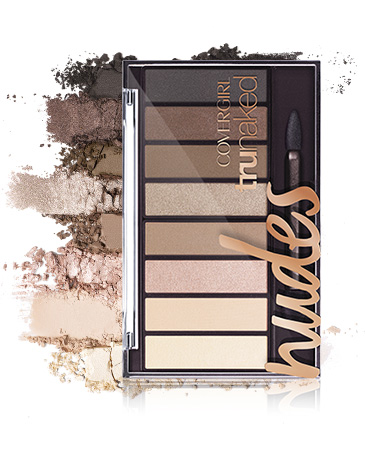 6. COVER GIRL TRUNAKED EYESHAWDOW PALETTE