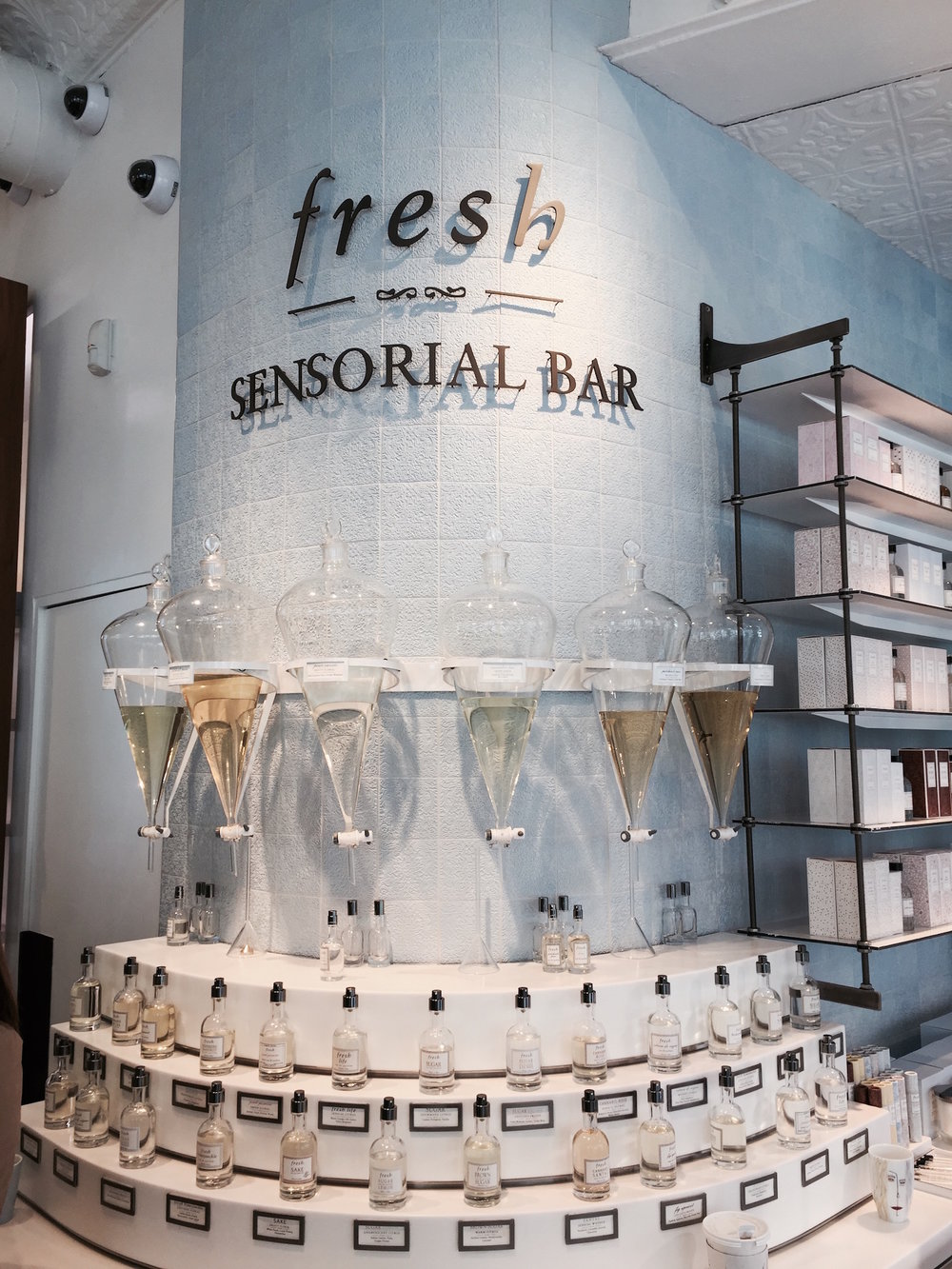 Sensorial Bar at the Fresh Store on Broadway, New York