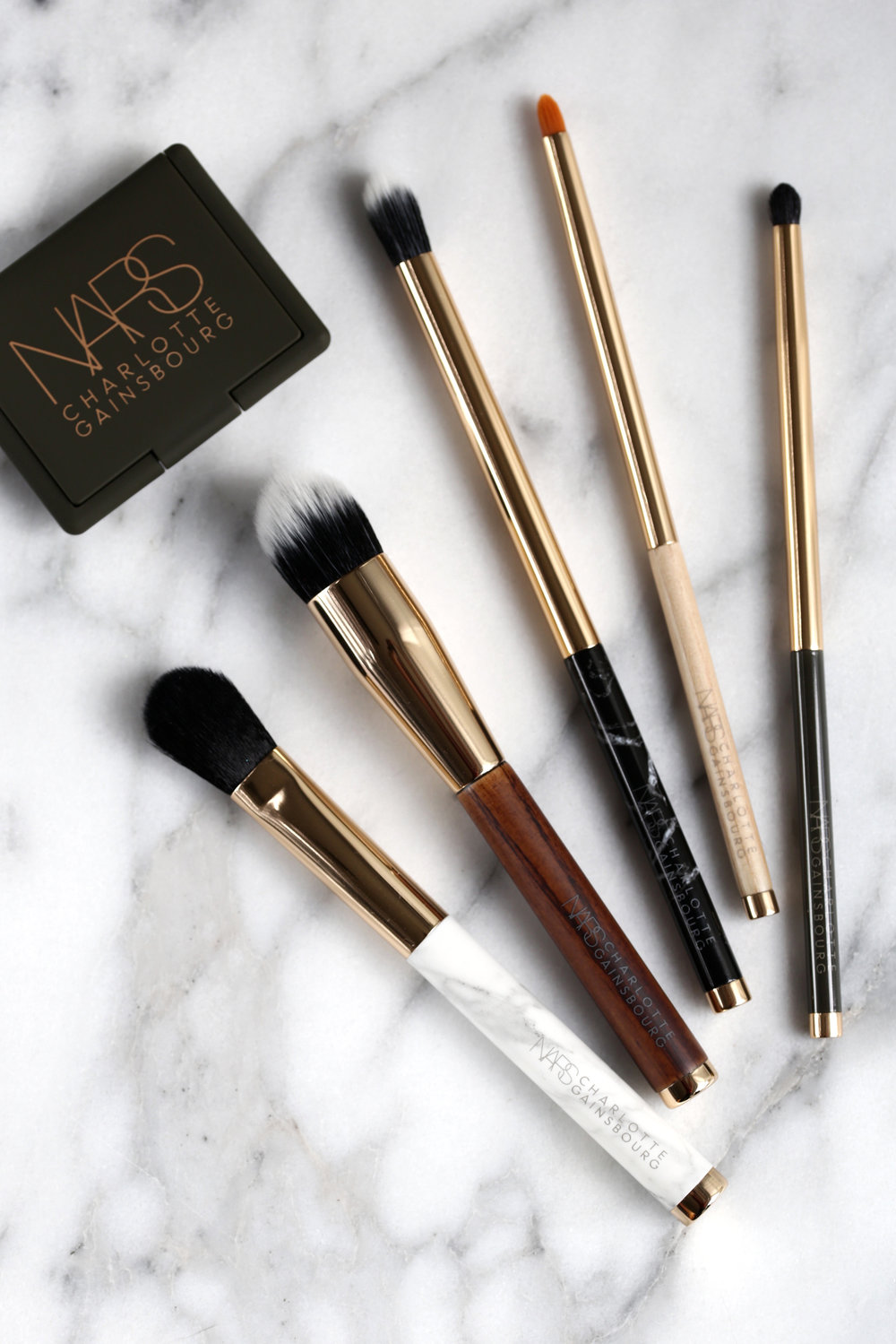 b e a u t y  - NARS x Charlotte Gainsbourg brush set