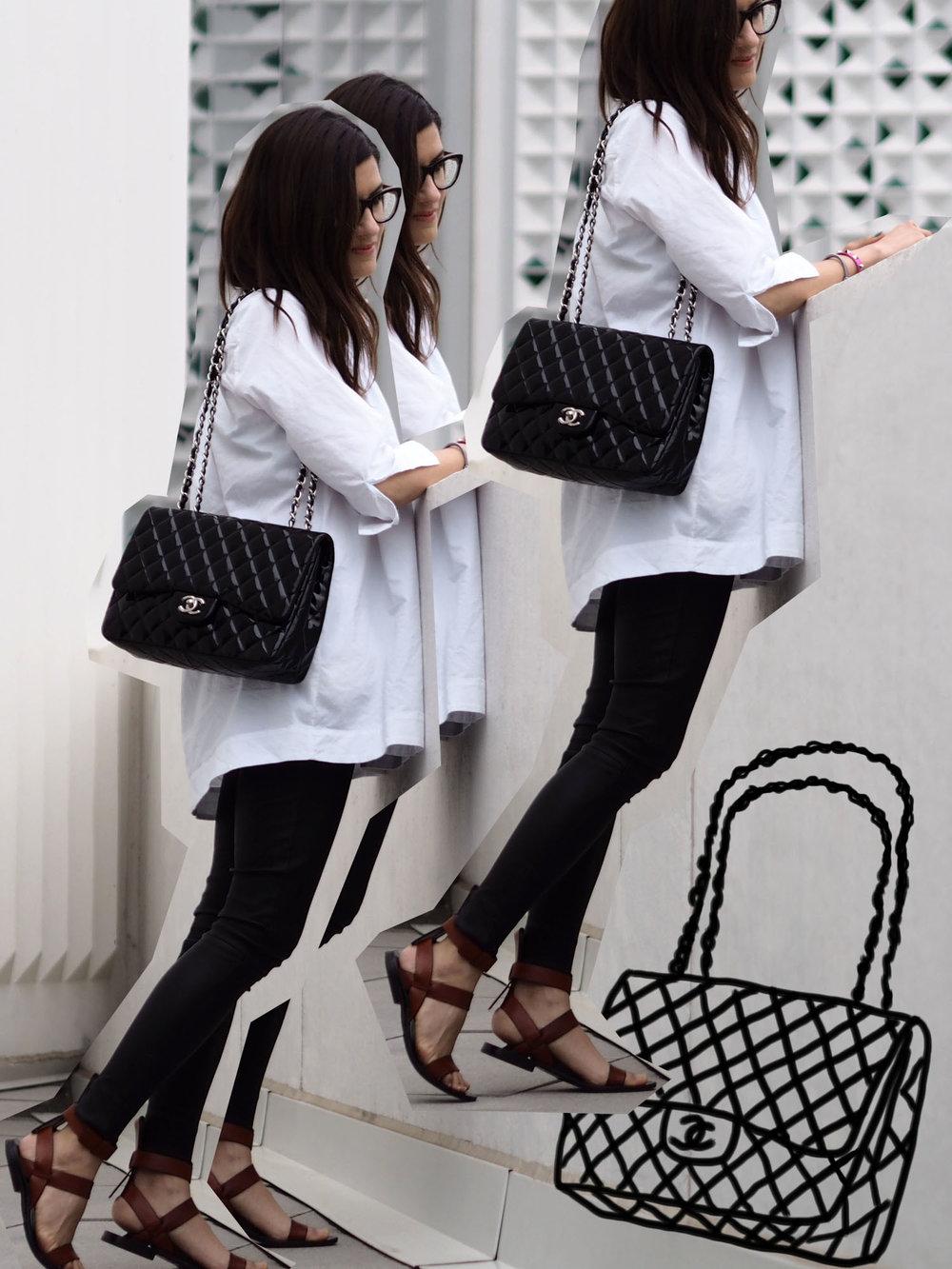 6a942ddd6c0b My Chanel patent leather Jumbo bag — WOAHSTYLE