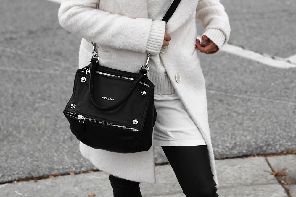 Winter White oversized knit, coat, leather leggings, Givenchy leopard print studded boots and Givenchy Pandora bag street style_2703.jpg