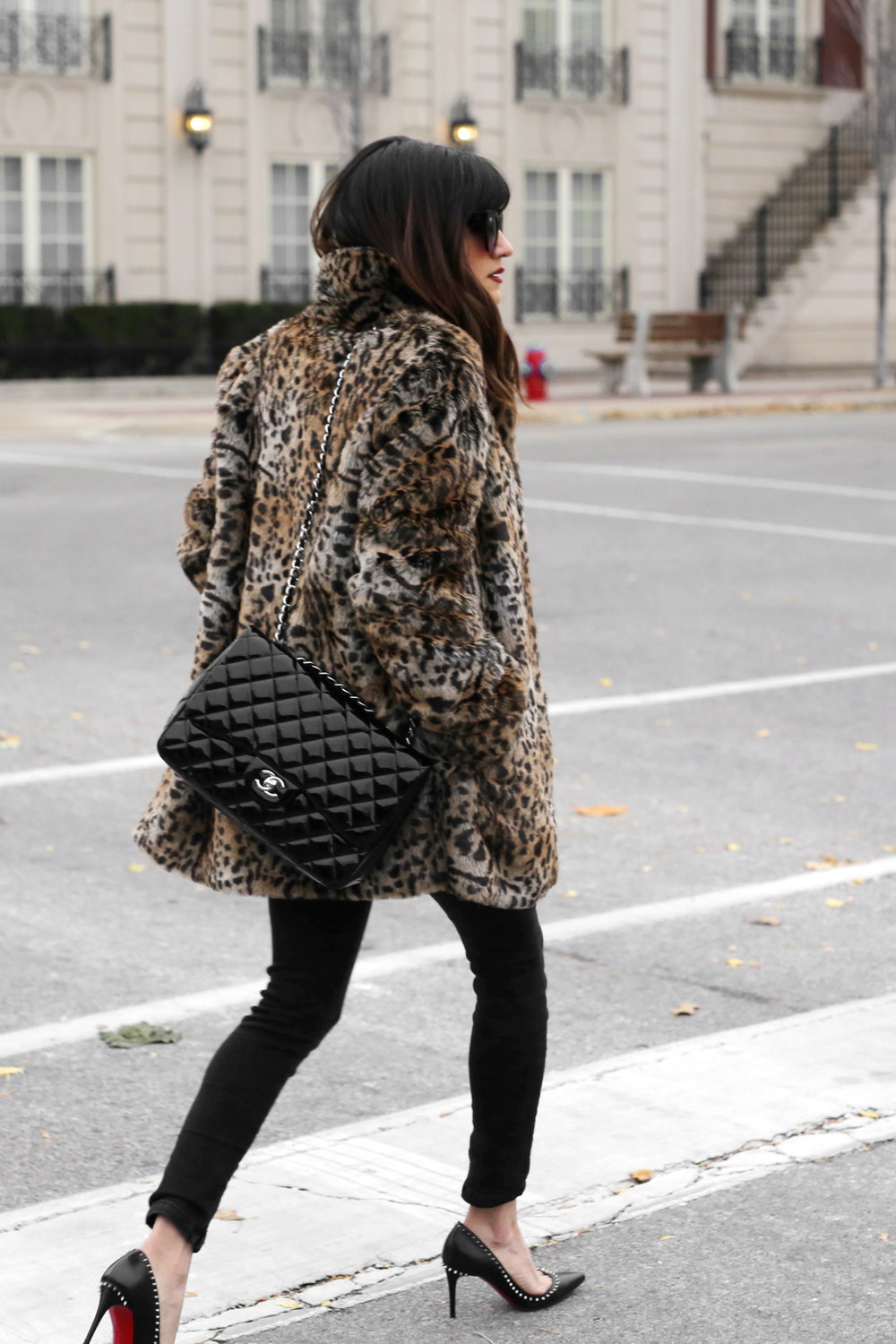 christian louboutin angelina spiked heels, chanel patent leather jumbo bag, leopard coat, kate moss inspiration street style_2992.jpg