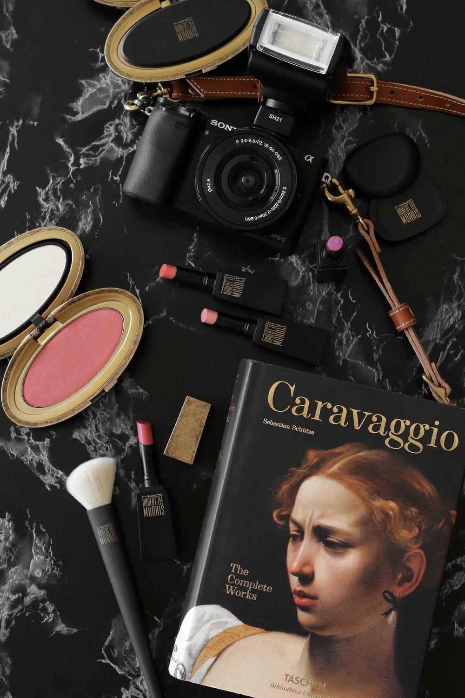 MAC x Robert Lee Morris makeup collection 2017 lipstick, blush, powder, compact, brush, beauty_5562.jpg