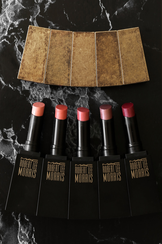 MAC x Robert Lee Morris makeup collection 2017 lipstick, blush, powder, compact, brush, beauty_5400.jpg