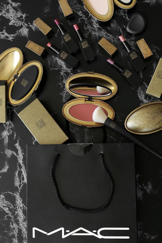 MAC x Robert Lee Morris makeup collection 2017 lipstick, blush, powder, compact, brush, beauty_5327 (1).jpg