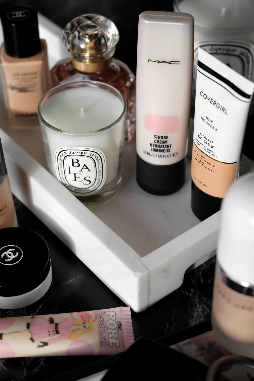 The Easy Trick to Get Glowing Skin In Your 30s - makeup, beauty, marc jacobs, benefit, covergirl, MAC strobe cream_6081.jpg