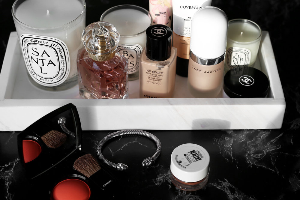 The Easy Trick to Get Glowing Skin In Your 30s - makeup, beauty, marc jacobs, benefit, covergirl, MAC strobe cream_6149.jpg