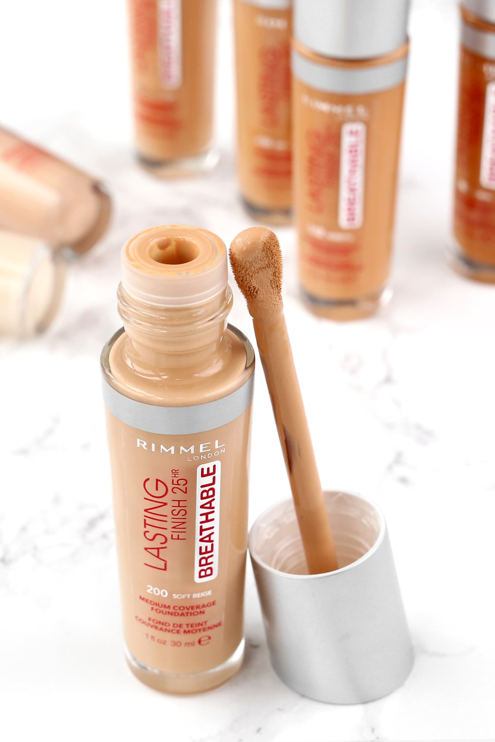 Review- Rimmel's Lasting Finish Breathable Collection - 25 hour wear foundation, concealer, and breathable primer - woahstyle.com - toronto beauty blog by nathalie martin_7277.jpg