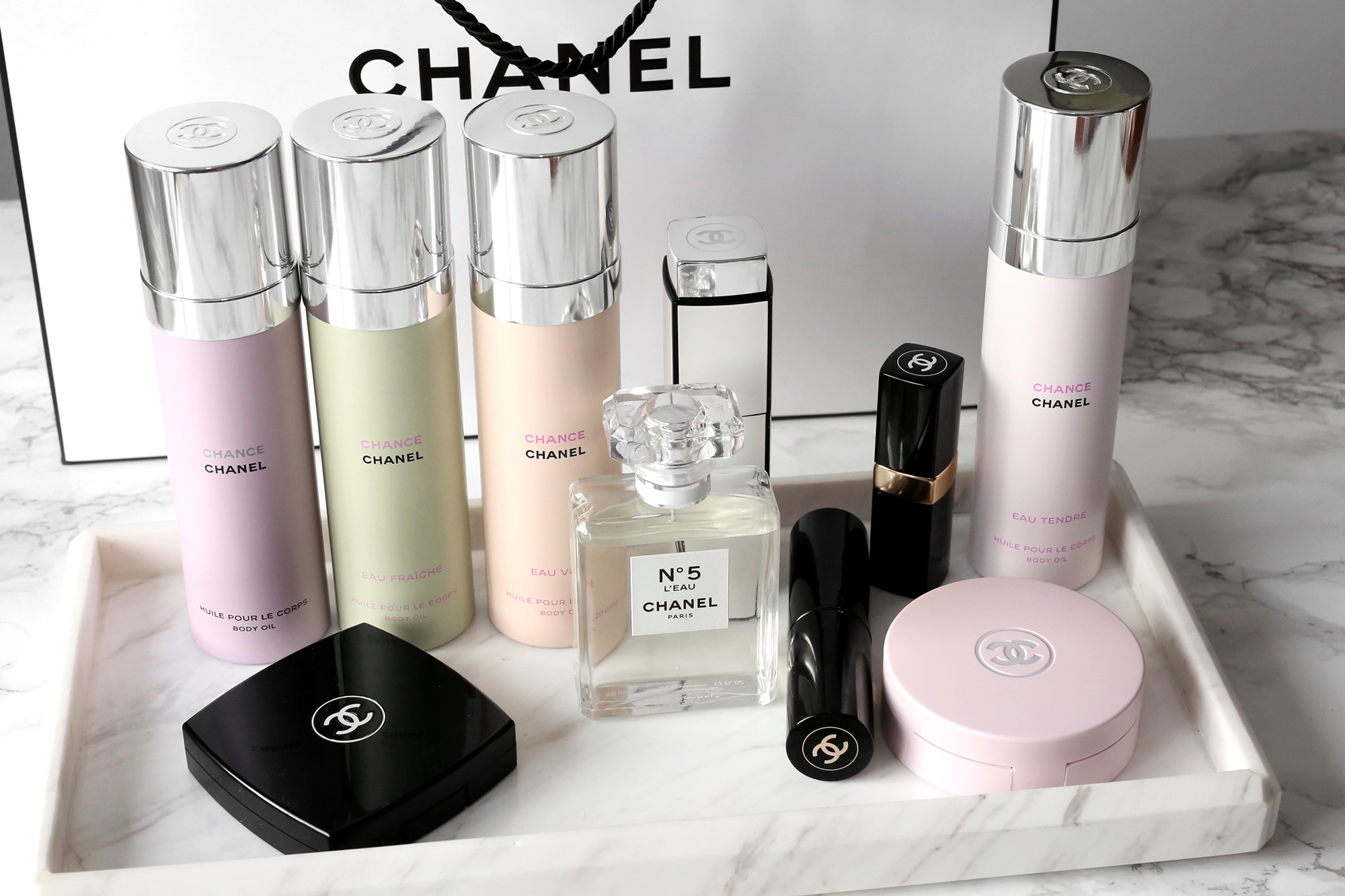 30e67dedce2 CHANEL Gives Us 3 New Ways to Experience Chance Perfume. CHANEL Chance Body  Oils ...