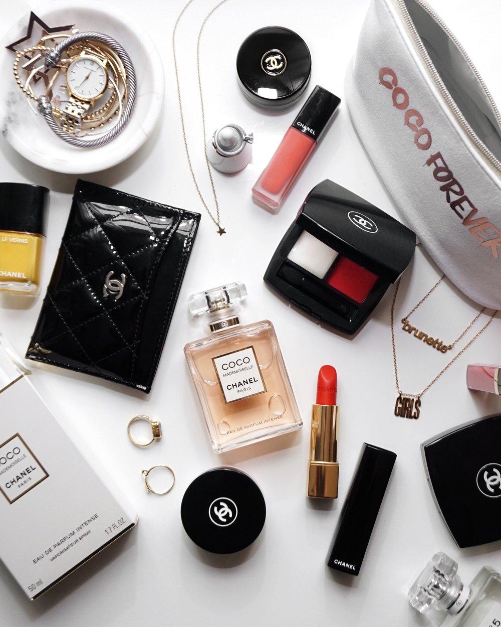 CHANLE makeup collection Coco Mademoiselle eau de Parfum Intense - woahstyle.com.jpg